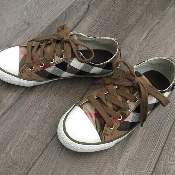 Burberry Shoes   Burberry Plaid Tennis